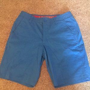 Under Armour | Men's Blue Golf Shorts